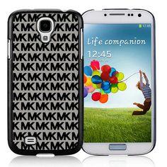 Michael Kors Logo Signature Grey Samsung 9500 Cases