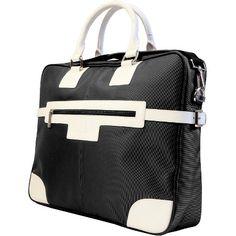 "Urban Factory 15.6"" Vicky's Women's Bag for Notebook - Black/White (VQ9962) : Target"
