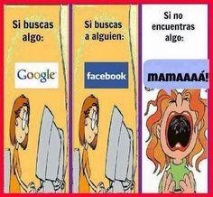 Si buscas algo.... Mamá!!!!