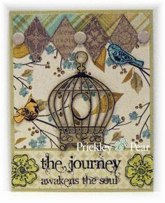 Prickley Pear Rubber Stamps: Journey; Inspiration Blooms