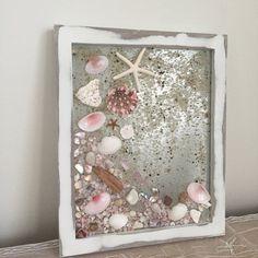 Pretty in Pink Seashell Beach Decor Coastal by CapeInspiredDesigns