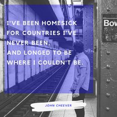 """Today in Literature: #JohnCheever was born on May 27, 1912. He has been described as """"the Chekhov of the suburbs.""""  #Quote"""