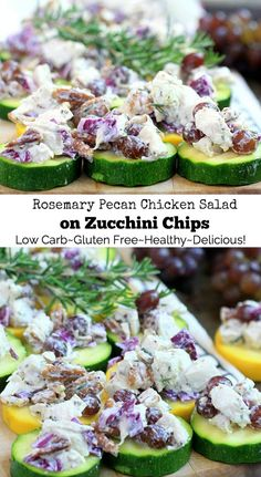 This easy low carb {gluten-free, low FODMAP} Rosem…