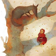 Une page lue chaque soir... au minimum: Le petit chaperon rouge_claire degans