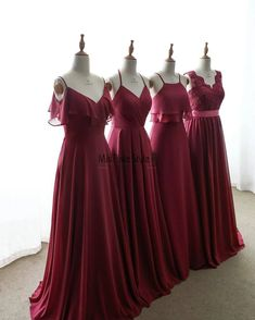 always a good idea! 🍷 Which dress style is your favorite? Leave us a comment below! 👇🏻 Also, last day to enjoy OFF all our bridesmaid dresses, tag your squad to go shopping together! Burgundy Bridesmaid Dresses Long, Cheap Bridesmaid Dresses Online, Wedding Dresses, Bridesmaid Ideas, Party Dresses, Fall Dresses, Wedding Bridesmaids, Subaru Forester, Dusty Blue