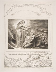 The Vision of God, from Illustrations of the Book of Job  Published 1825–26
