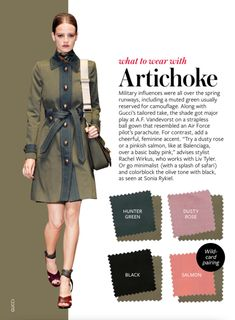 What to wear with ARTICHOKE
