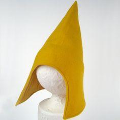 Costume Garden Gnome Hat - Mustard Yellow (SMALL) (WOWR100911-3R)