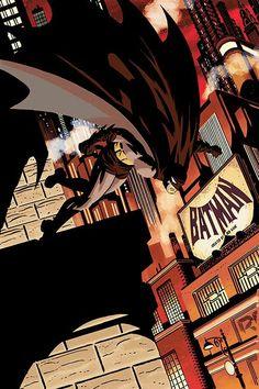 Batman, by Darwyn Cooke.