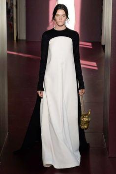 Valentino Fall 2017 Couture Fashion Show - Leila Goldkuhl