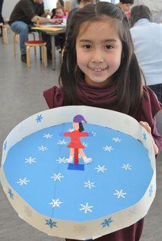 Onderwijs en zo voort ........: 3303. Sneeuw en ijs : Schaatsbaan met magneetschaa...