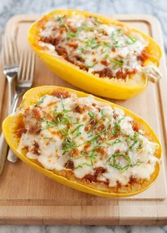 Recipe: Lasagna-Stuffed Spaghetti Squash — Recipes from The Kitchn | The Kitchn