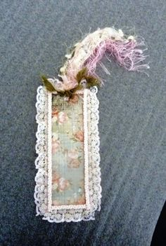 Cardstock bookmark made for a friend's Mum
