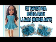 Vestidos Nancy, Crochet Clothes, Crochet Hats, American Girl Crochet, Barbie And Ken, Barbie Dress, Knitted Dolls, Doll Clothes, Summer Dresses