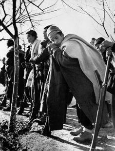 Madrid. November-December 1936. Members of the International Brigades//Robert Capa