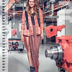 WOMEN IN TECHNOLOGY KALENDER  Designs | Loekie Mulder