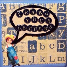 A personal favorite from my Etsy shop https://www.etsy.com/listing/232699298/vintage-blue-white-play-learn-activity
