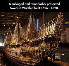 A Glorious Monument To Swedish Seamanship