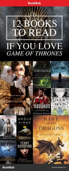 12 Books to Read if You Love Game of Thrones