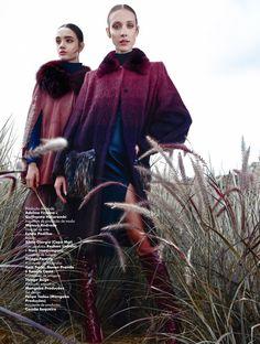 aos pares: amanda fiore and luiza scandelari by nicole heiniger for l'officiel brasil april 2015 | visual optimism; fashion editorials, shows, campaigns & more!