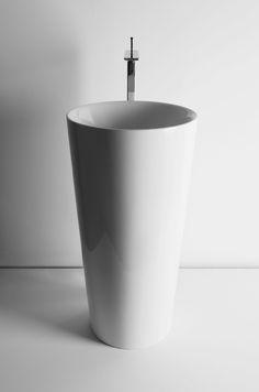 Rundes Standwaschbecken IL | Standwaschbecken - Valdama