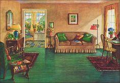 Vintage industrial decor – Eclectic Home Decor Today 1920s Home Decor, Vintage Home Decor, 1920s Interior Design, Vintage House Plans, Vintage Houses, Cheap Beach Decor, Retro Living Rooms, Vintage Industrial Decor, Industrial Living