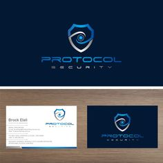 Create a serious and sophisticated security company logo by Ruff