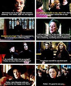 Minerva the Queen McGonagall
