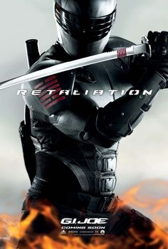 Character Posters for G.I. Joe Retaliation