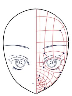 Example of polygon flow of face using subdivision surface – Anime Ideas 3d Model Character, Female Character Design, Character Design Animation, Character Modeling, Character Drawing, Character Sheet, Maya Modeling, Modeling Tips, Modeling Techniques