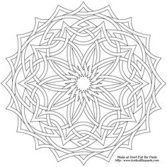 Free Printable Mandala Coloring Pages | High resolution transparent PNG format: