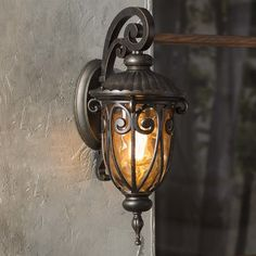 fine art lamps costa del sol iron glass sconce products
