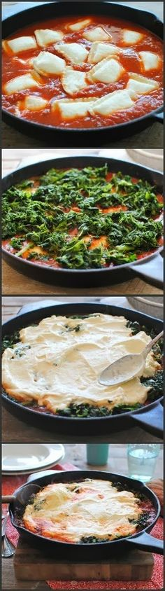 Ravioli Skillet Lasagna Recipe