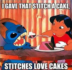 Stitches love it.