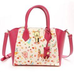 Samantha Thavasa Anne of Green Gables Azayle Shoulder Bag Handbag Tote Free Shipping JAPAN