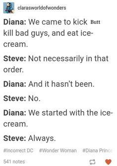 Yeah! Icecream first!