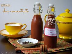 Homemade Chai Concentrate - My Heart Beets