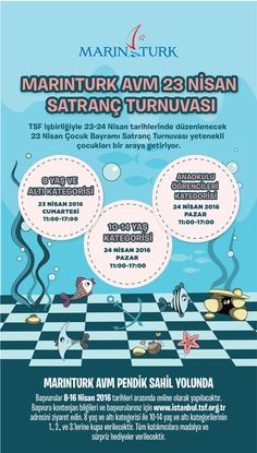 marinturk-satranc-2016-afis-s Chess, Posters, Illustrations, Banners, Billboard, Poster