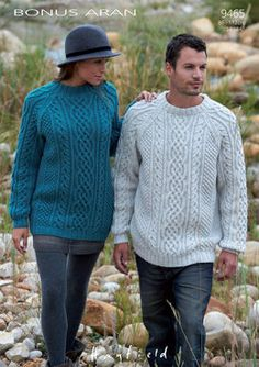 Sweaters in Hayfield Bonus Aran - Discover more Patterns by Hayfield at LoveKnitting. The world's largest range of knitting supplies - we stock patterns, yarn, needles and books from all of your favorite brands. Aran Knitting Patterns, Jumper Patterns, Aran Jumper, Aran Sweaters, Cardigans, Sweaters For Women, Men Sweater, Knitting Supplies, Crochet Yarn