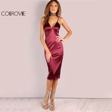Like and Share if you want this  COLROVIE Burgundy Satin Party Club Dress 2017 Deep V Neck Women Summer Dresses Sexy Bodycon Strap Ruched Ladies Midi Slip Dress     Tag a friend who would love this!     FREE Shipping Worldwide     Buy one here---> https://ourstoreali.com/products/colrovie-burgundy-satin-party-club-dress-2017-deep-v-neck-women-summer-dresses-sexy-bodycon-strap-ruched-ladies-midi-slip-dress/    #aliexpress #onlineshopping #cheapproduct  #womensfashion