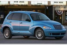 2010 blue PT Cruiser
