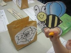 Little Warriors: Pollination Science Lesson for Insect unit Kindergarten Science, Elementary Science, Science Classroom, Teaching Science, Science Activities, Science Ideas, Classroom Ideas, Science Fun, Science Experiments