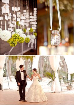 Grey Likes Weddings is a blog that has the most beautiful photography from couple's weddings. Some of the decor you see in the pics are great ideas for any event.