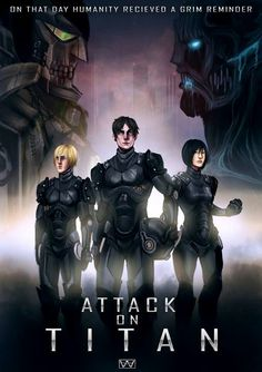 Attack on Titan x Pacific Rim crossover Attack On Titan Crossover, Attack On Titan Jean, Anime Crossover, Attack On Titan Anime, Rivamika, Anime Reccomendations, Eremika, Anime Nerd, Another Anime