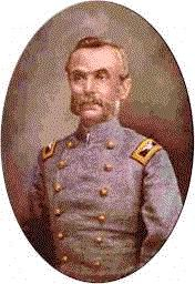 Confederate Colonel Robert Thomas Pritchard Allen of the 17th Texas Volunteer Infantry