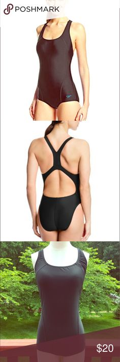 ⭐️Sporty Black Speedo One Piece Bathing Suit⭐️ ⭐️Sporty Black Speedo One Piece Bathing Suit⭐️ Speedo Brand. Great condition! Perfect for summer, swimming lessons, competitions and more! Next day shipping. All sales are final. Speedo Swim One Pieces