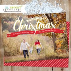 97 best photo christmas card samples images on pinterest christmas ribbon holiday christmas card full photo by lilsproutgreetings m4hsunfo
