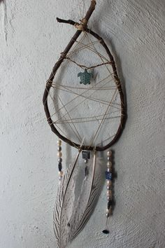 Ocean Dreamcatcher and Positive Emanation Creation by ElvenWay on Etsy- Ocean Magic, Inner Seas, Flowing Peace, Prosperity, Protection, Turtle Totem, Ancient Map