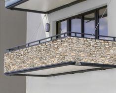 "Balkonbanner ""Steinmauer"" Banner, Balcony, Stone, Closets, Wall, Bliss, Garage, Graphics, Stone Fence"