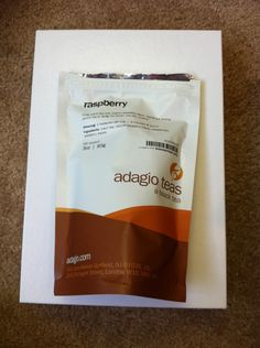 Raspberry black tea by Adagio Teas: $2.50! Keenteathyme has too much tea, hence her tea store: